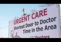 Advertising Billboard Truck made for Urgent Care