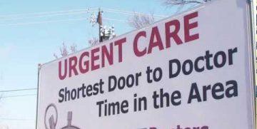 Urgent Care Truck Billboard